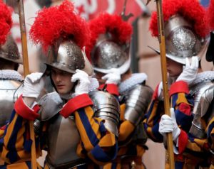 Vatican's Swiss Guards to start using 3D printed helmets.